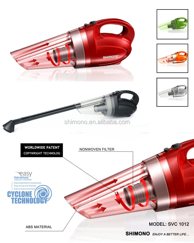 shimono water based handheld vacuum cleaner for home and car - buy
