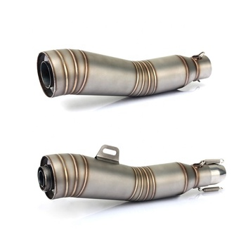 Universal stainless steel exhaust muffler for exhaust motorcycle
