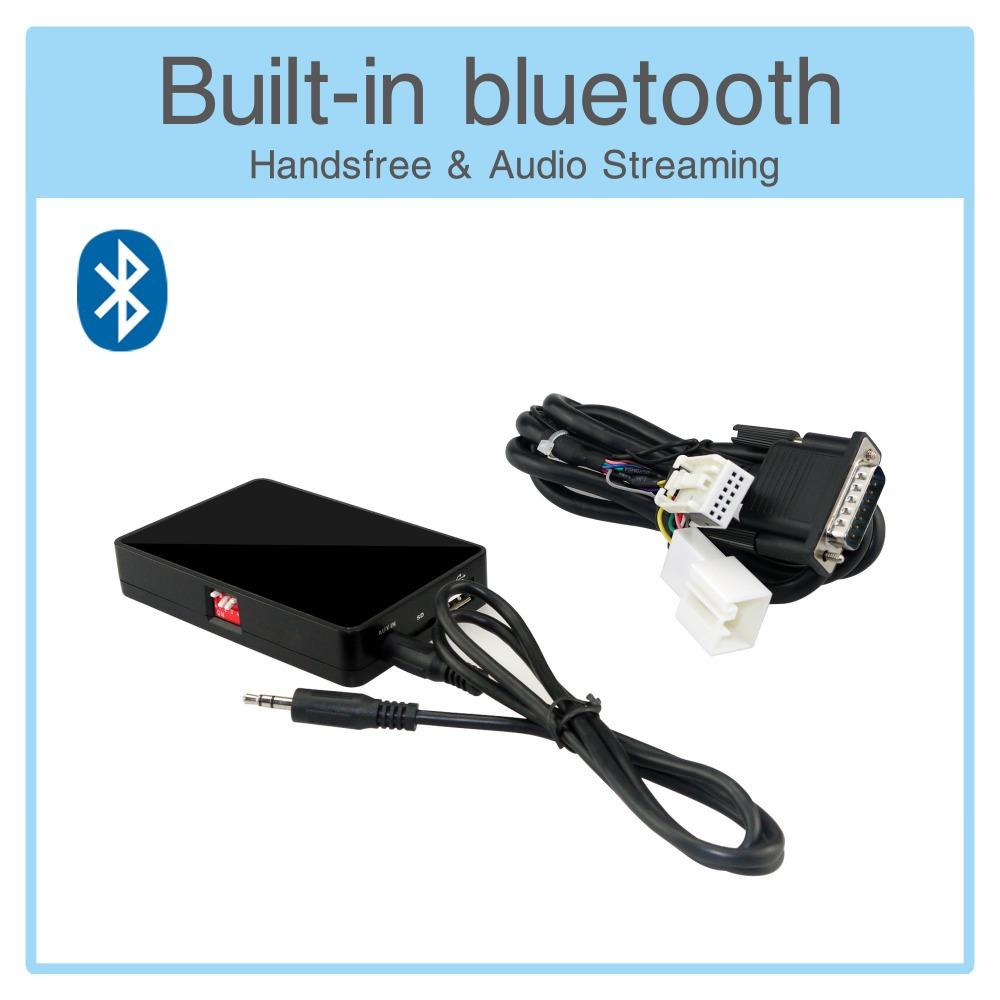 Usb AUX SD карты мини-адаптер Bluetooth интерфейс MP3 плеера цифровой mp3-cd-чейнджер на Skoda Superb 08 - 11 Octavia 07 - 11