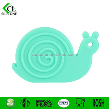 2015 Baby-First-Bite Silicone Mouth Toys-Snail Teether