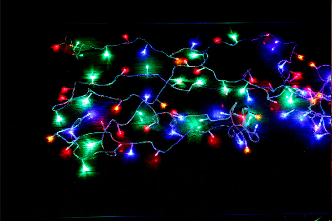 2017 New Decorate Led String Light With Adaptor Led Christmas Lights For Holiday Decoration ...