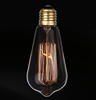 Interior decoration E27 vintage edison light bulb ST64 A60 C35 40W Edison bulb wholesale