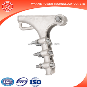 Electric Power Cable Fittings Gun Type Strain Clamp
