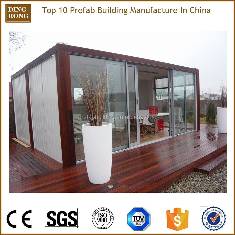 prefab shipping container ready made wooden house kit modular