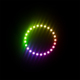 High Quality 5V 80mm 90mm 95mm Angel Eye Rings 5050 Led SMD RGB Sequential Halo Ring Light for BMW