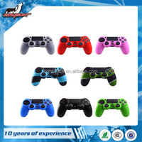 Silicone Rubber Skin Case Gel protective Cover for PS4 Controller