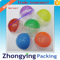 2015 Plastic Capsules Toy ball for gift filler