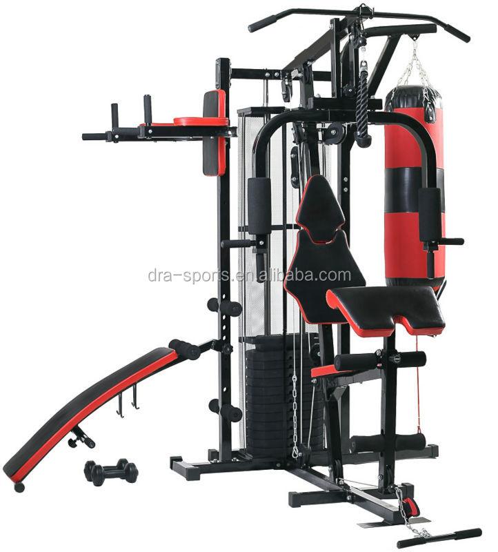 New Multi Gym Home Station Avec H480 Haltère 100kg Poids Sit Up