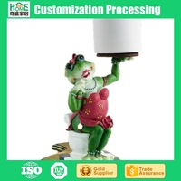 Creative Roll Paper Towel Rack, Kitchen Tissue Frog Paper Holder
