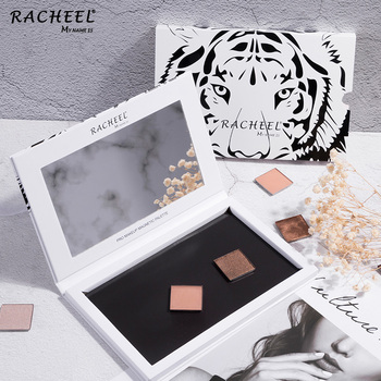 RACHEEL Accept OEM High Quality Tiger Stripes Empty Magnetic Eyeshadow Palette