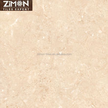 new model interior Beige rustic glazed polished porcelain floor tile