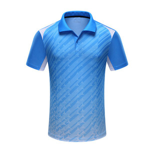 Wholesale unisex mesh microfiber plain dry fit sports running 3d print polo shirt(A927)