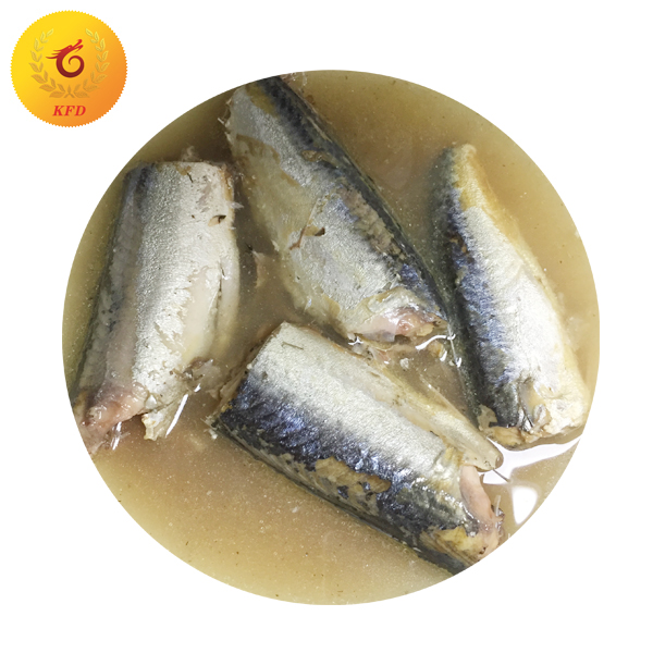 Salted Mackerel Fish in Brine in Can