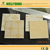 prepainted gypsum board back with aluminum foil agricultural gypsum for decorative