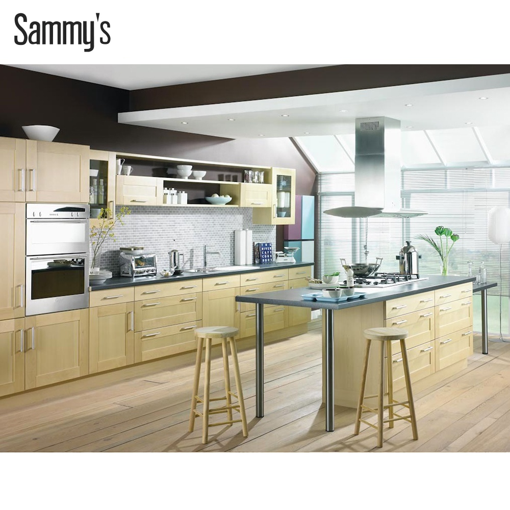 white maple kitchen cabinet wall units designs, View folding kitchen table  wall mounted, Cauval Sammy\'s Product Details from Foshan Sammy\'s Kitchen ...
