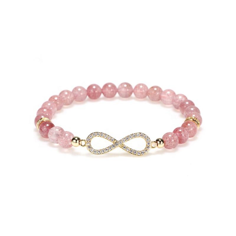 Crystal beads bracelet womens alloy charm rhinestone bracelet fashion crystal beaded bracelet jewelry