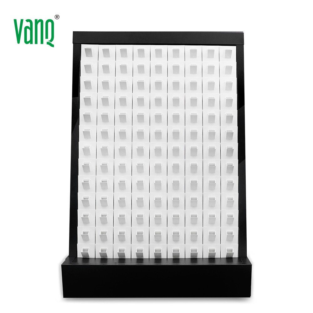 VANQ PVC Self Watering Home Indoor Diy Greenwall Artificial Vertical Green Wall Garden Hydroponic Grow System with Pots