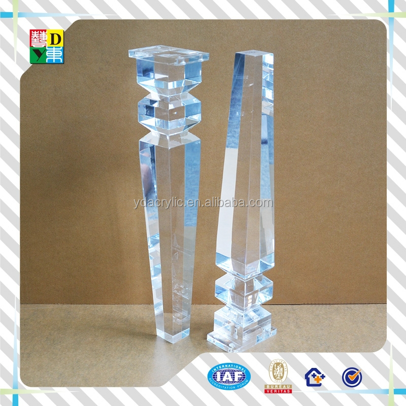 wholesale lucite table legs wholesale lucite table legs suppliers and manufacturers at alibabacom acrylic furniture legslucite table leghigh transparent