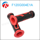Hot sale 22mm Red Printing Rubber Material Motorcycle handle grip