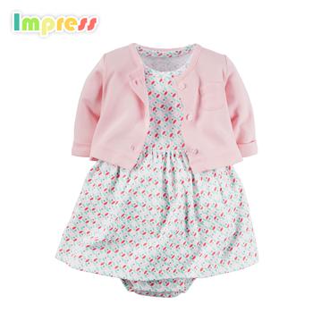0-24 Monate Baby Tragen 100% Baumwolle Carters Baby Body Kleid - Buy ...