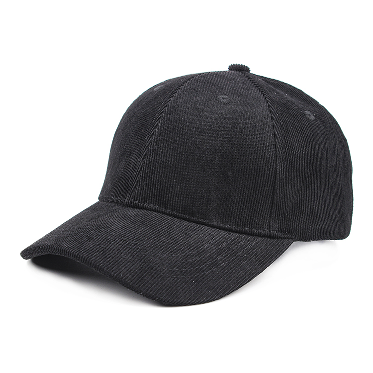 wholesale strapback adjustable <strong>hat</strong> 6 panel corduroy baseball cap