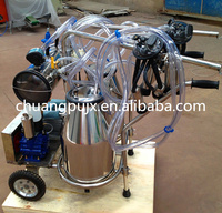 Hl-JN02 Double Bucket Vacume Pump Milking Machine Diry Farm Equipment