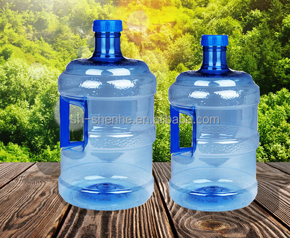 high quality plastic 100% new material PC 18.9 liter water bottle from China