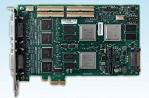 Luxriot HC7008 8 Channel 240 fps H.264 Hybrid DVR Card: Real-Time @ D1, PCI-E x1, Hardware-Compressed, 3yr warranty