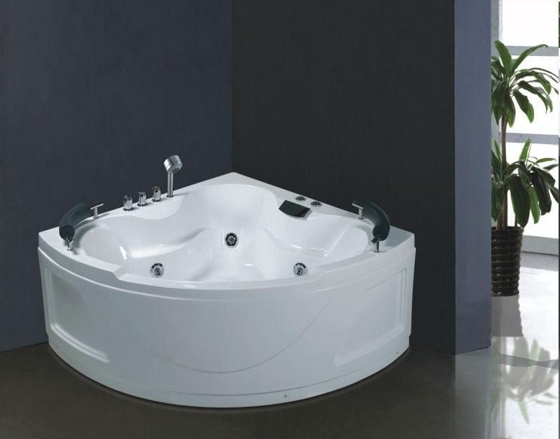 no b276 two person jet whirlpool bathtub pump adult portable spa massage bathtub bath tub tubs. Black Bedroom Furniture Sets. Home Design Ideas