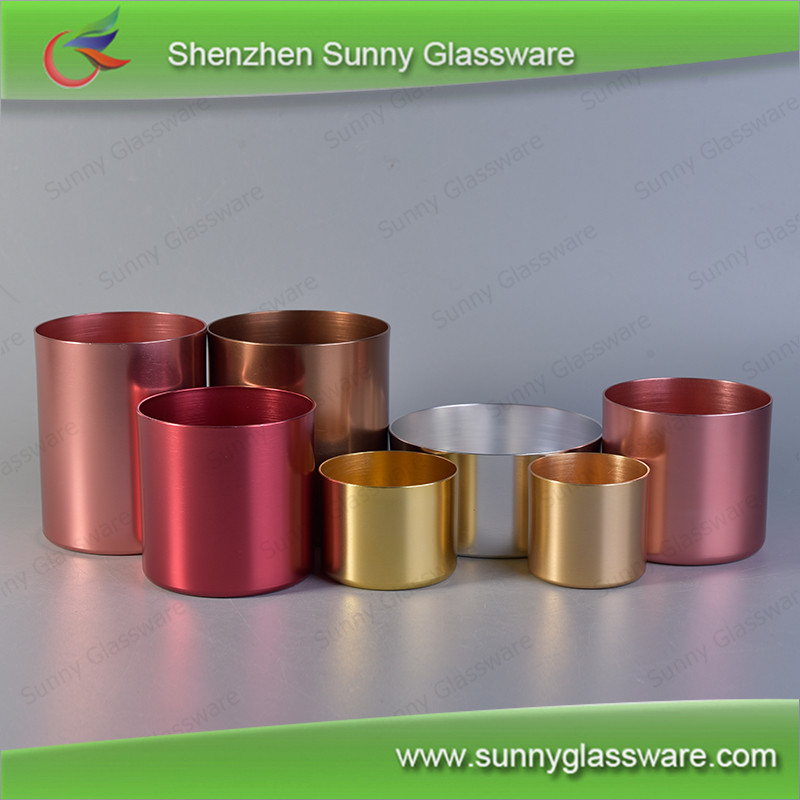 Luxury copper metal candle holder wholesale