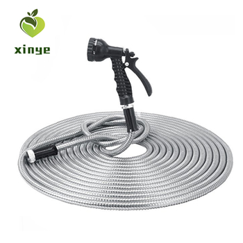 201/301/304 Reasonable Price High Quality Stainless Steel Metal Hose 25FT 50FT 75FT 100FT garden hose