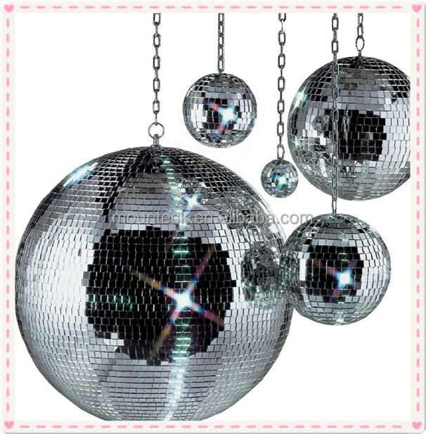 Disco Ball Decorations Cheap: Wholesale Clear Glass Christmas Mirror Ball Decoration Big