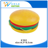 PU hamburger stress reliever / anti stress squeeze toy