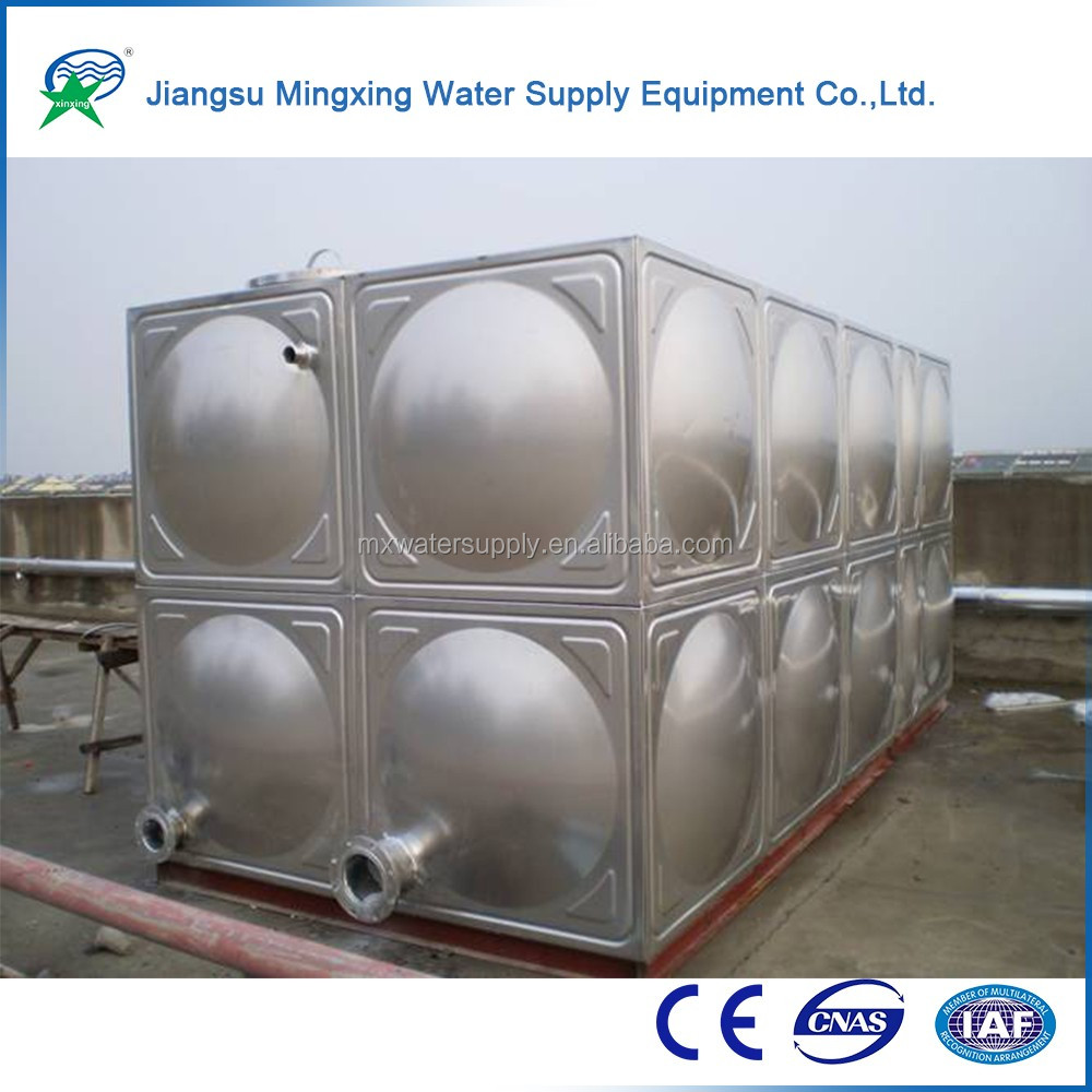 China Supplier Poly Water Tank And Stainless Steel Square Water ...