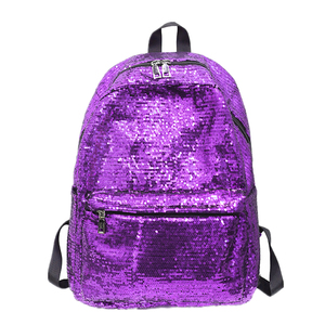Customized Multiple Colors Boutique Fashion Women Reversible Sequin Backpack Girls Sparkly Glitter Mermaid Magic School Backpack