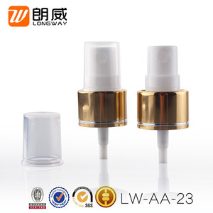 Color optional cosmetic aluminum and PP Plastic microsprayer
