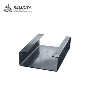 Hot Dip GI 0.15-3.0mm Thickness C Shaped Channel C Steel Purlin for Sale ST37 C Iron