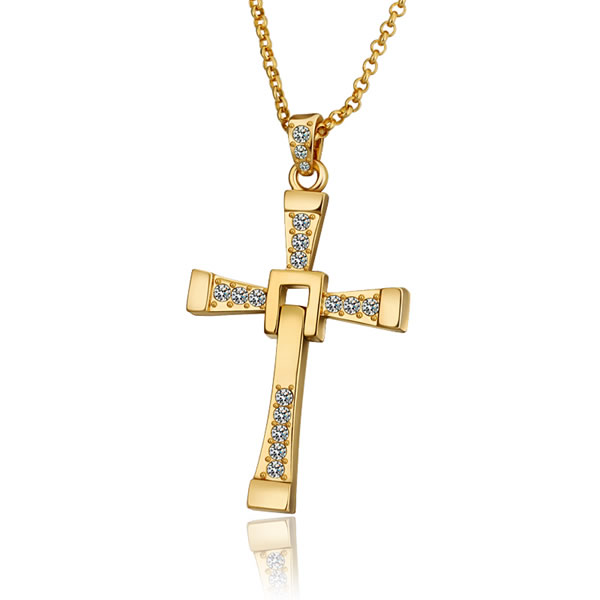 Vin Diesel Cross Necklace: Top Quality The Fast And The Furious Celebrity Vin Diesel