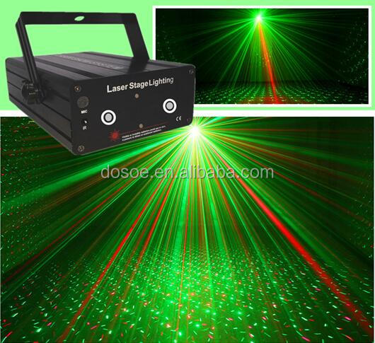 200mw GREEN RED Star laser light/Mini LED R&G Laser Projector Stage Lighting