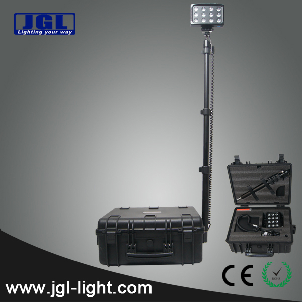 explosion proof lamps military electric police equipment 2000Lm RLS936L rechargeable led flood light