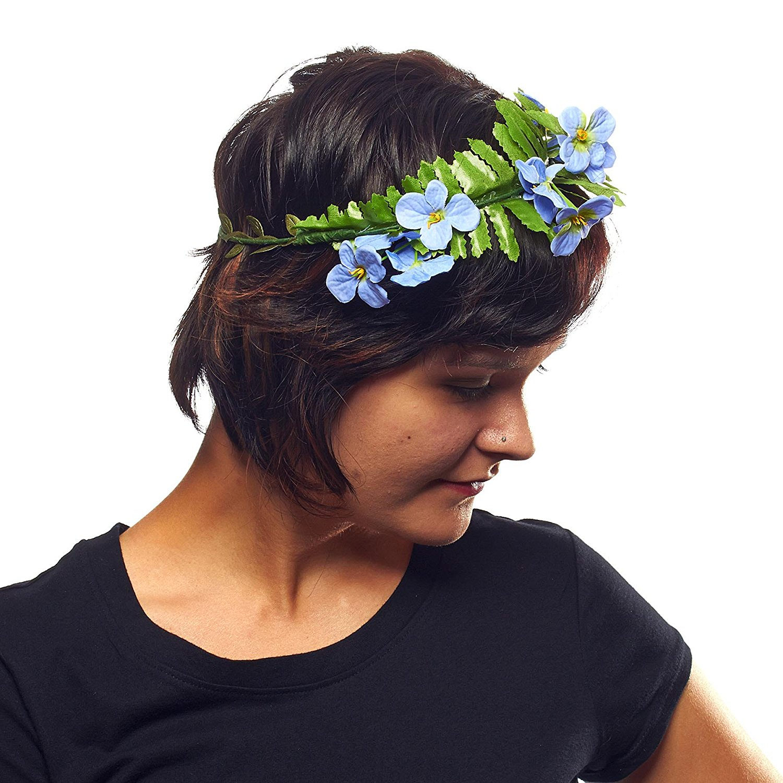Cheap hippie flower crown find hippie flower crown deals on line at hippie love flower garland crown hair wreath izmirmasajfo
