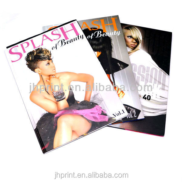 high quality fashion cheap magazine printing company