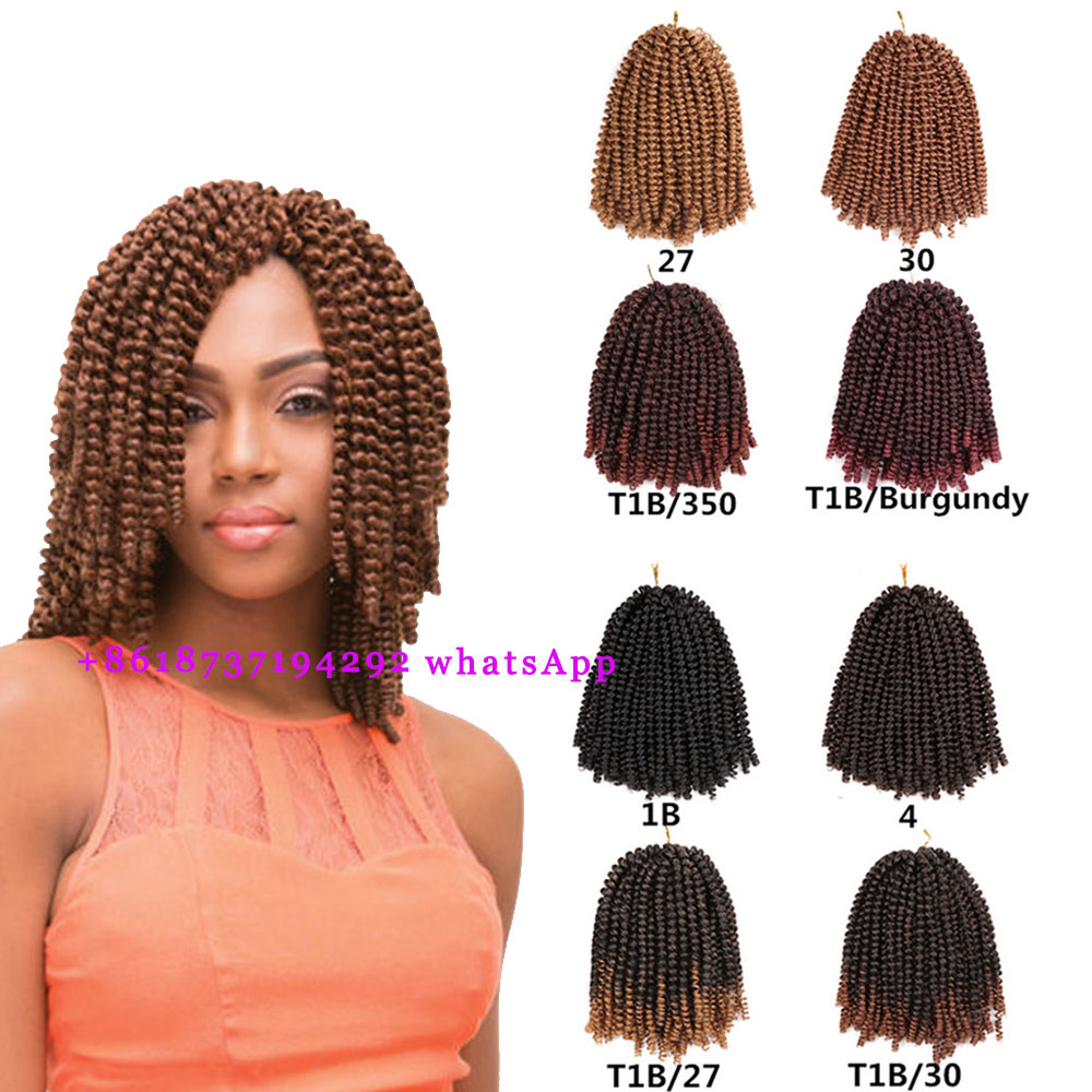 Eunice Spring Nubian Twist Marley Hairsoft Kinky Twist Hair