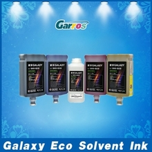 Original 1 Liter Galaxy Eco Solvent Ink For DX5 And DX7 Print Head