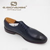 Blue genuine soft comfortable calf leather custom made Italian style men business dress shoe, dress shoes men formal