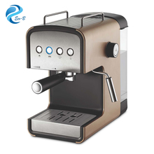 Hot Sale 1.2 Liter 15 Bar Family Italian pump Espresso Machine , Automatic Coffee Maker With Milk Frother