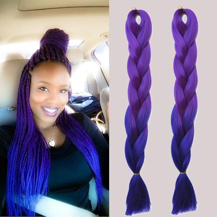 ombre-kanekalon-braiding-hair