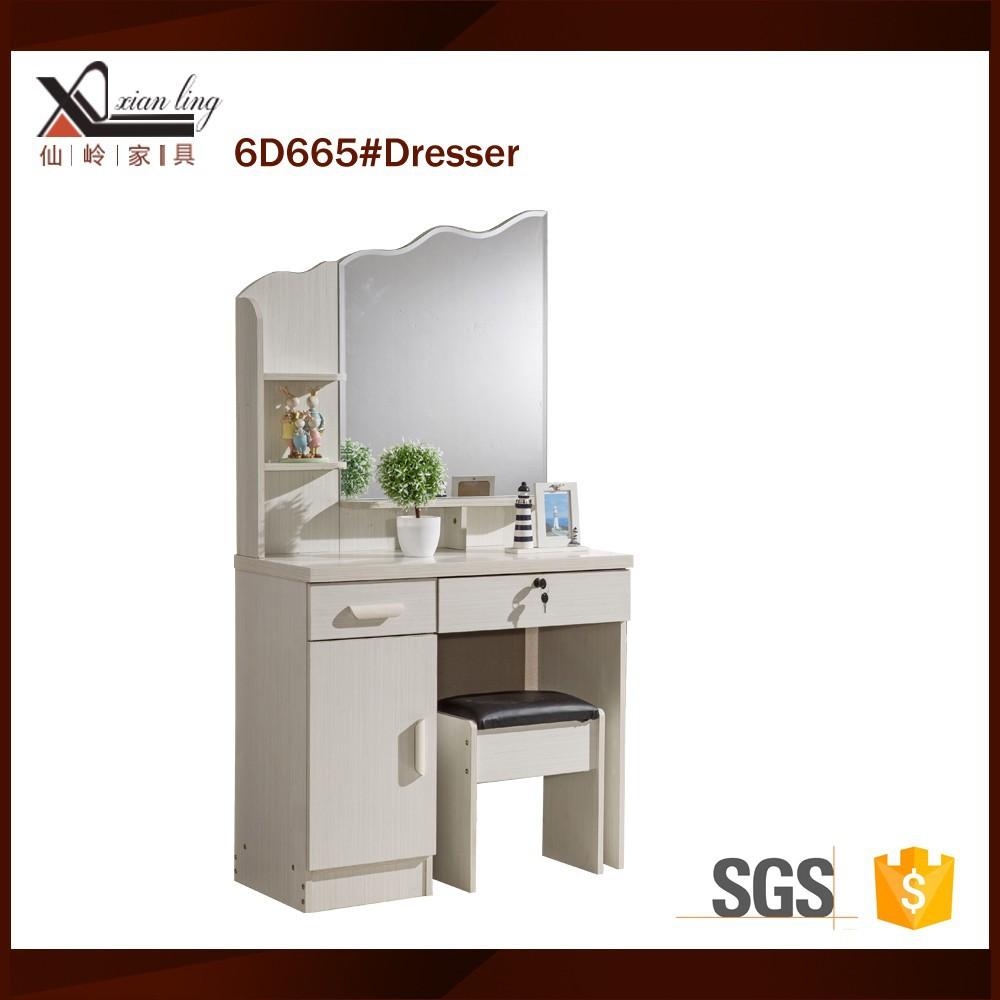 Putih Meja Rias Perabotan Modern Lemari Dengan Cermin Buy  # Muebles Lapolar