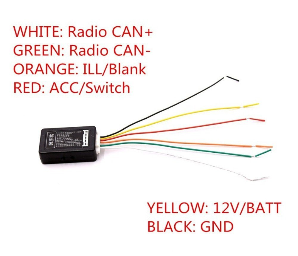 Cheap Rcd Electrical Find Deals On Line At Alibabacom Residential Wiring Simulator Get Quotations Aidu Canbus Gateway Emulator Decoder For Vw Radio Rcd510 Rns510 Rcn210 Rcd310