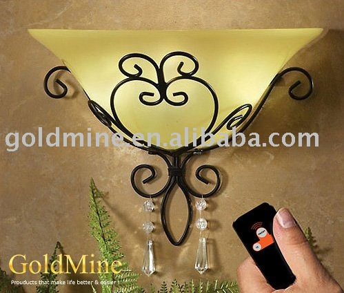 Wireless Sconce And Remote/remote Lamp/remote Light/remote Led ...